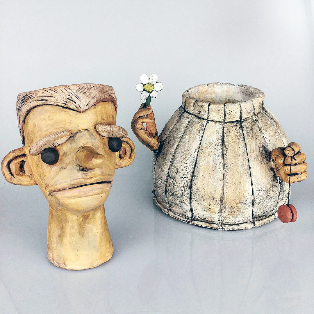 Ceramic Clay Art Artist Emmett Freeman