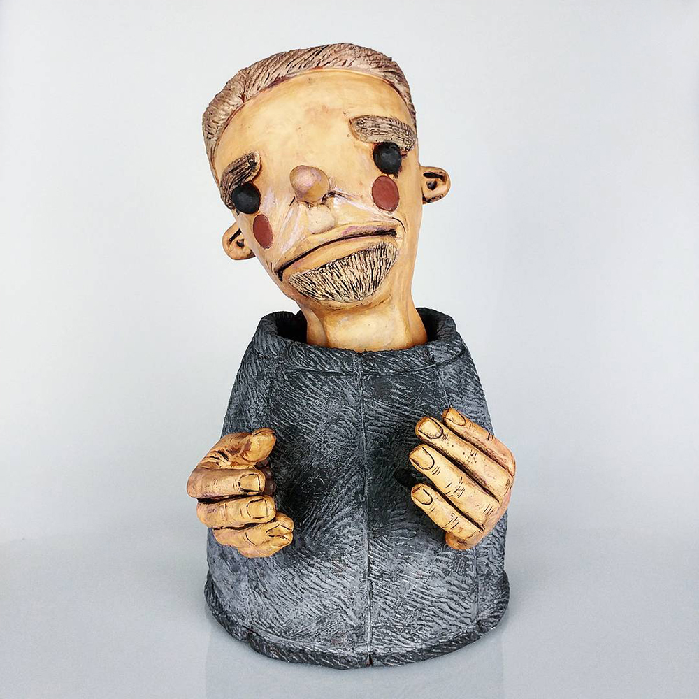 Emmett Freeman Artist Art Ceramic Clay