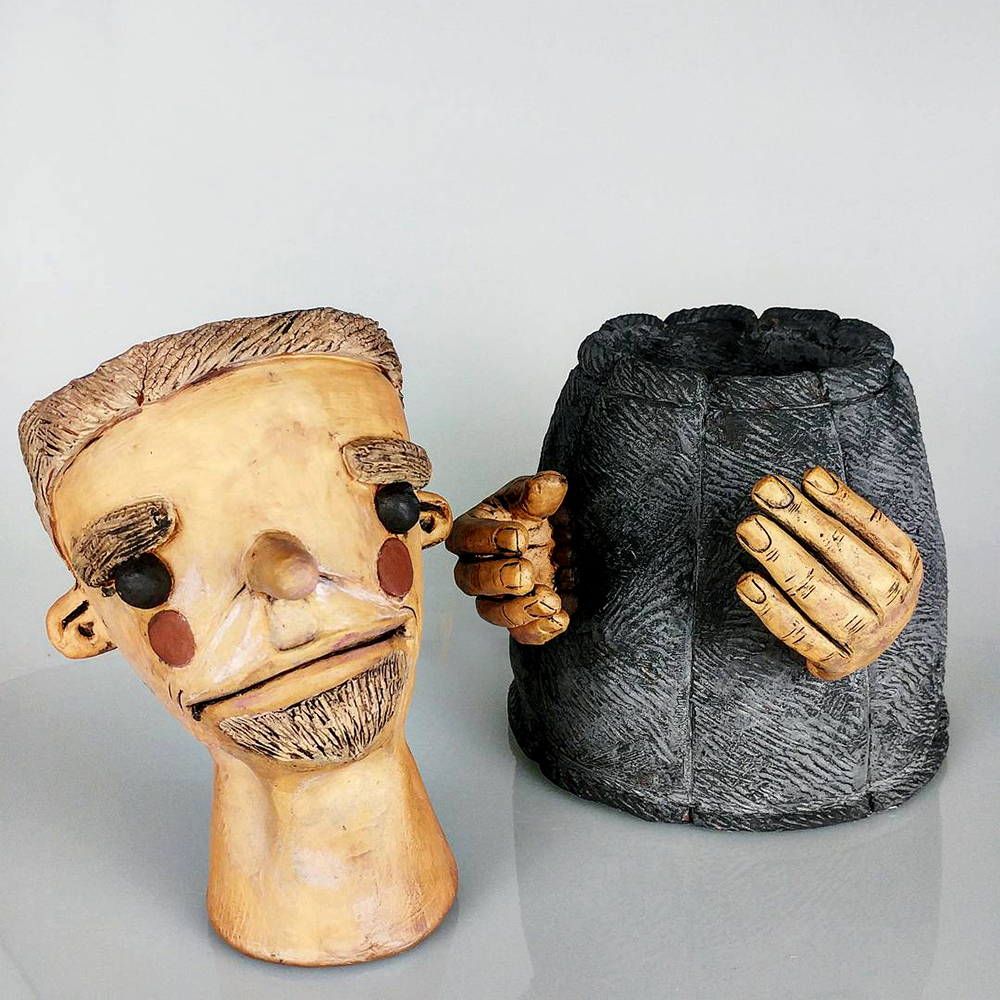 Ceramic Art Clay Emmett Freeman Artist
